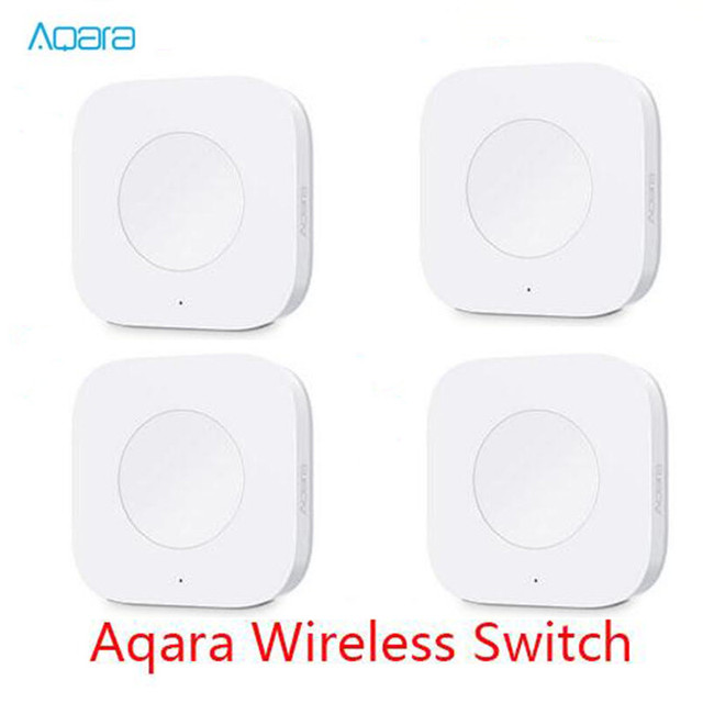 Aqara Smart Multi Functional Intelligent Wireless Switch Key Built In Gyro Function Work With Android IOS For mihoue APP