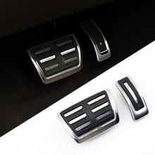 Нескользящая Накладка для Porsche Macan аксессуары для ножного ускорителя топливного газа масла педаль тормоза ковровая отделка