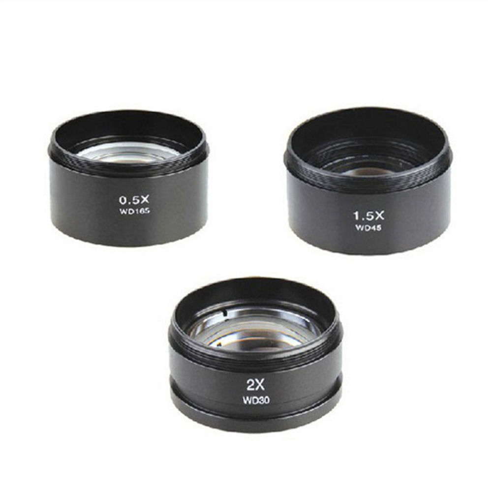 Agnicy Stereo Microscope Accessories Auxiliary Objective Lens Extender Teleconverter  0.3X/0.5X/0.75X/1.5x/2.0x|Monocular/Binoculars| |  - title=