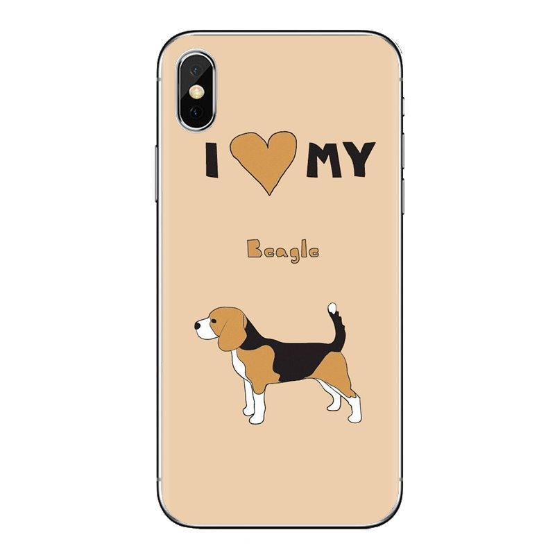 I love my Beagle <font><b>Dogs</b></font> Soft Transparent Shell Covers For <font><b>Samsung</b></font> <font><b>Galaxy</b></font> <font><b>A3</b></font> A5 A7 A9 A8 Star A6 Plus 2018 2015 2016 <font><b>2017</b></font> image