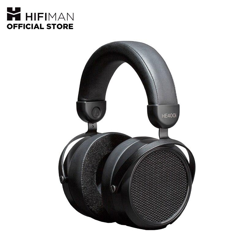HIFIMAN HE-400I Накладные наушники, полноразмерные магнитные наушники, регулируемые наушники с удобными амбушюрами, дизайн с открытой спиной