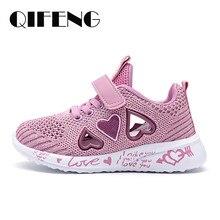 2021 filles Chaussures Décontractées Maille Légère Sneakers Enfants D'été Enfants Mode Tennis Sport Mignon Cartoon Femme Chaussette de Course Chaussures