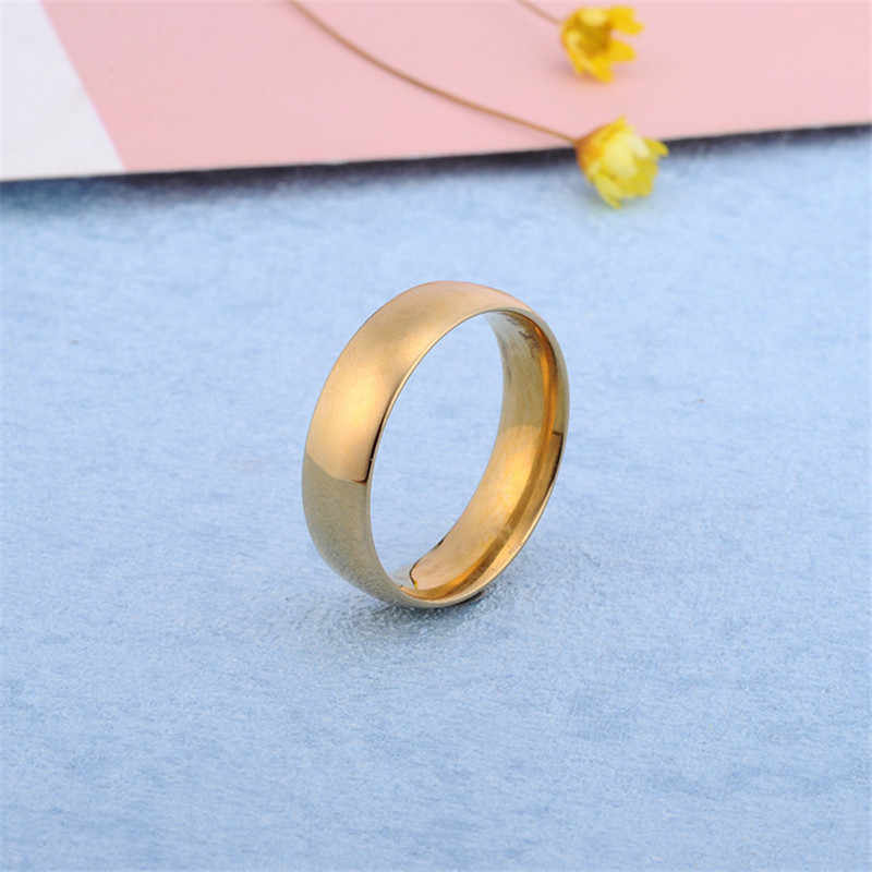 Розовое золото, кольцо из нержавеющей стали, мужские цветные серебряные ювелирные изделия, мужское кольцо в стиле панк, обручальные кольца для женщин, обручальное кольцо, мужские подарки
