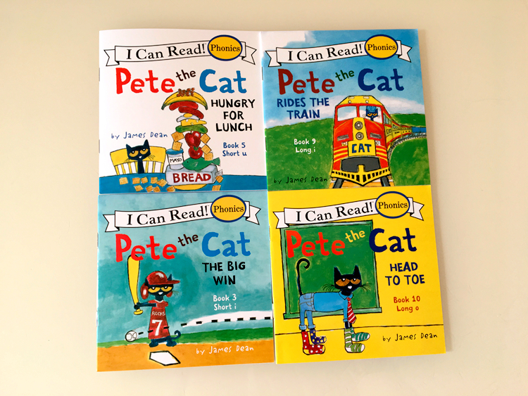 12 Book/Set I Can Read The Pete Cat English Books For Kids Story Book Educational Toys For Children Pocket Reading Book 13x13CM 5