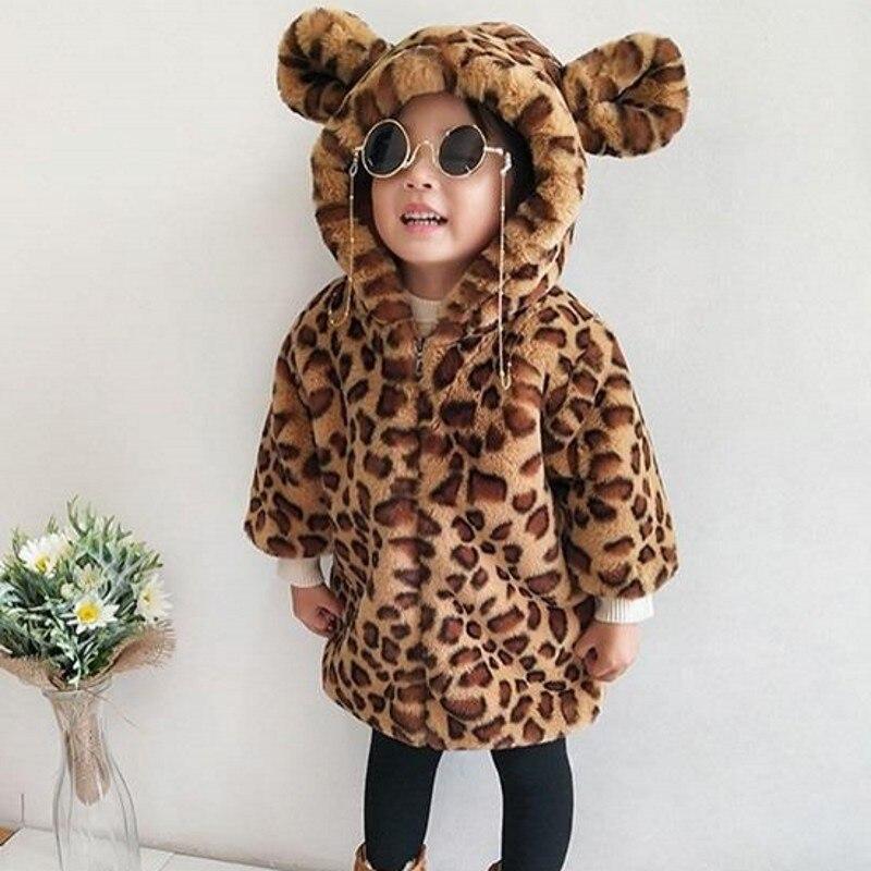 Faux Fur Leopard Winter...