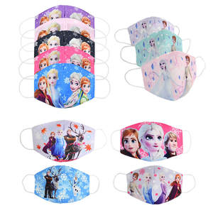 Disney Girl Toys Frozen Protective-Maks Anti-Dust Washable Olaf Anna Boys Children's