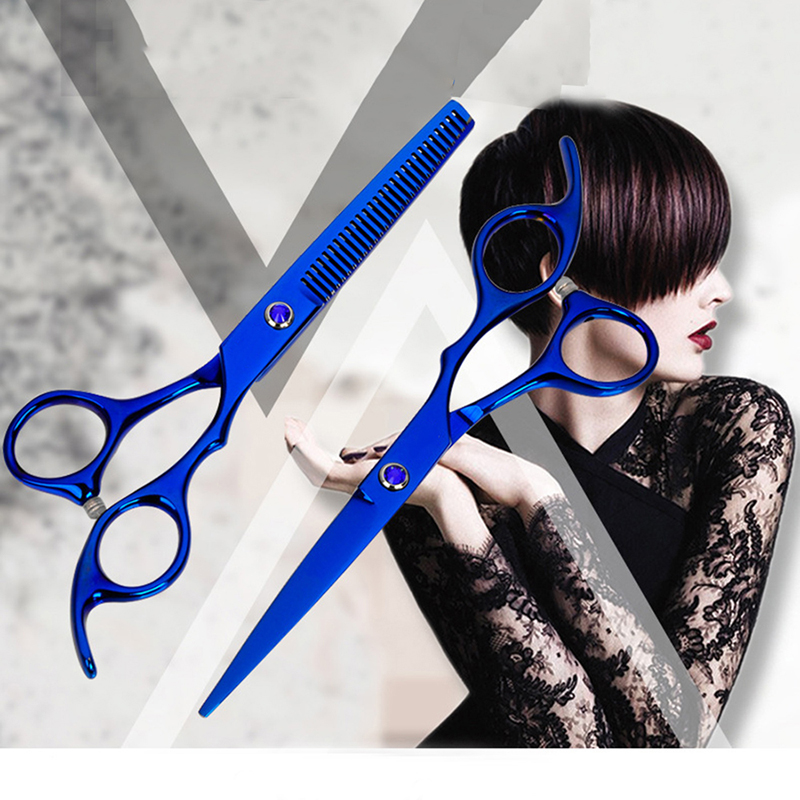 Professionals 6 Inch Hairdressing Hair Cutting Scissors Salon Barber Shears Stainless Steel