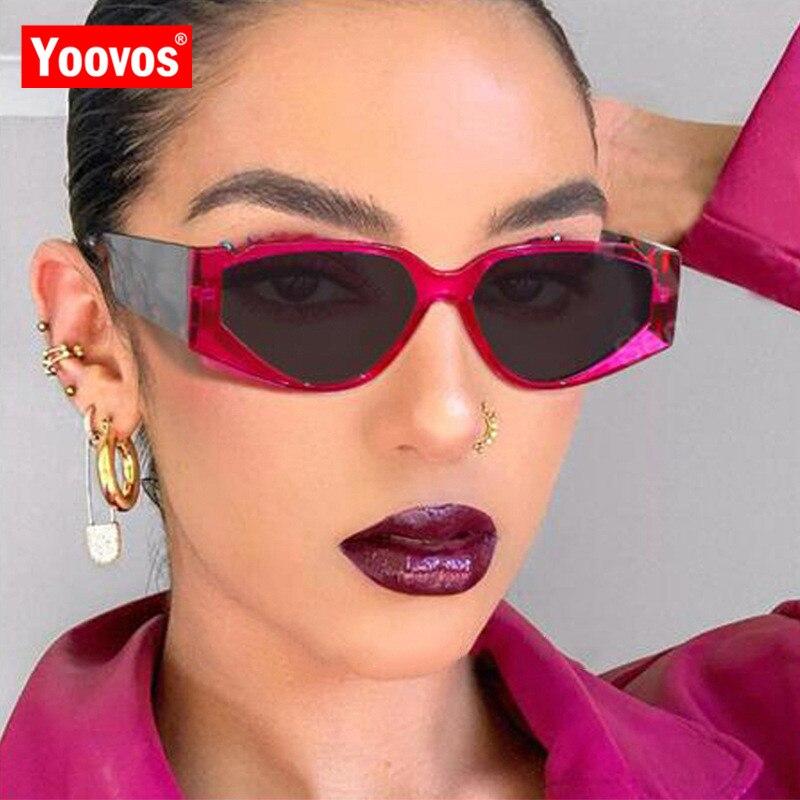 Yoovos 2020 güneş gözlüğü kadın kedi gözü kadın güneş gözlüğü Retro marka tasarımcısı güneş gözlüğü kadınlar için klasik Gafas De Sol De Mujer
