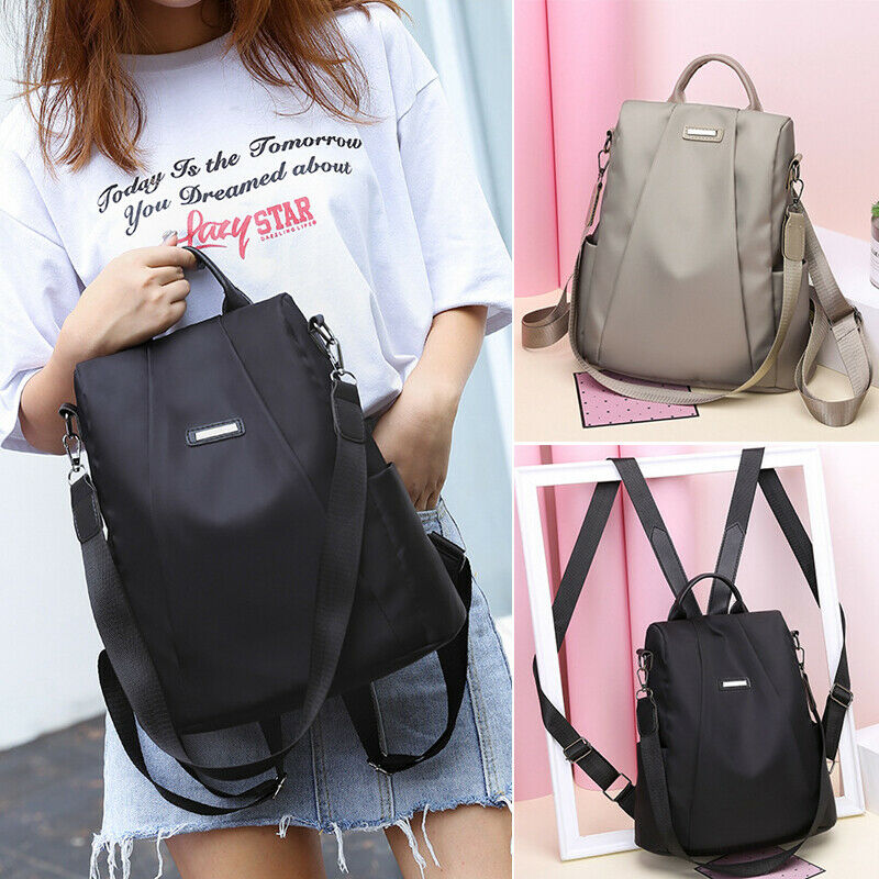 Women Backpack Pu Leather Handbag Shoulder Bag Rucksack Purse Satchel Schoolbags