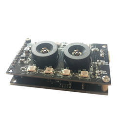 ABHU-2MP USB Camera Module Board Double Lens 90 Degree 1080P AR0230 CMOS Sensor with Night Version for Internet/Industry Equipme