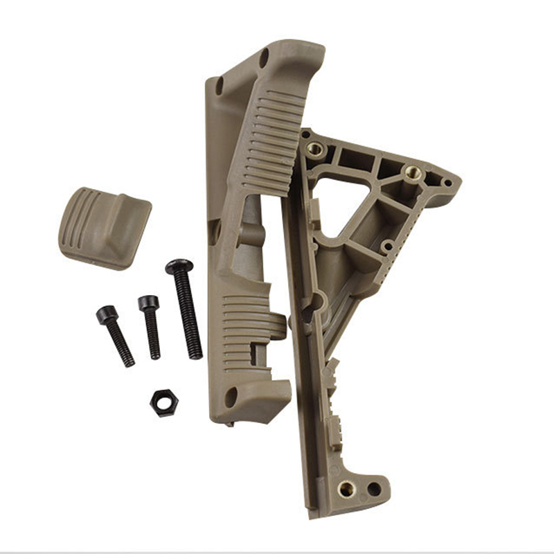 Pts Grip Airsoft Triangle Grips High Quality Lightweight Environment Friendly Portable Tactical Airsoft Front Handle