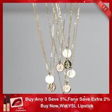 Collier avec nom fait main en argent 925, pièces or Rose ras du cou, avec pendentif de 7mm, bijoux Boho pour femmes
