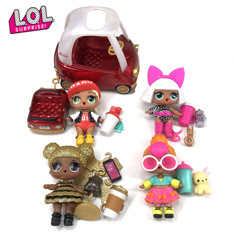 Original LOL Surprise Dolls 100% Genuine lols dolls Originales queen bee doll anime figura action toys figure model for children