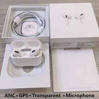 Nowy zastosowany do airpoddings 2 pro 3 bezprzewodowe słuchawki Bluetooth z pozycjonowaniem + zmiana nazwy + ładowanie bezprzewodowe + inteligentny czujnik + ANC