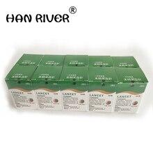 500 (10 boxes) needles massage stick use for pen disposable sterile lancets fleam vent drain blood lancet dedicated 28G