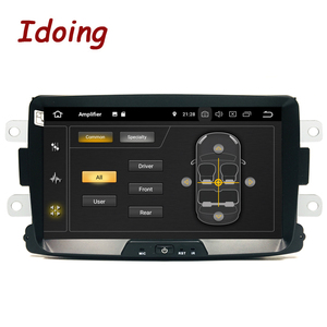 "Image 3 - Idoing 1Din 8""Car Radio GPS Multimedia Player Android 9.0 For Renault Duster LADA 2014 2016 IPS DSP 4G+64G Octa Core Navigation"