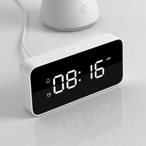 Image 3 - Original Xiaomi Mijia Xiaoai Smart Voice Broadcast Alarm Clock Work with Mi Home App White
