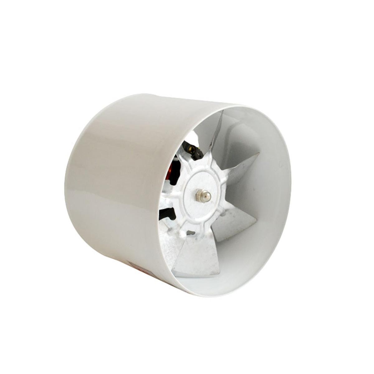 100MM Wall Mount Bathroom Kitchen Pipe Exhaust Fan Ventilation Blower Air Fresh Ejector Fan