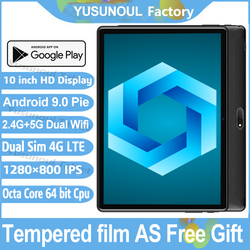 Sales 10 inch Tablet pc 5G Wifi 4G LTE 1280*800 HD resolution Android 9.0 Pie Octa Core CPU Dual cameras Rear 5.0 MP Tablets PC