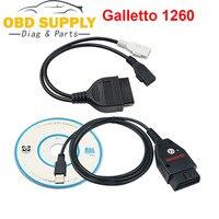 Obd2 ecu galletto 1260 ecu chip tuning ferramenta eobd/obd2/obdii pisca galleto 1260 ecu com ftdi ft232rl motor tuning