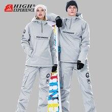 Traje de Invierno para mujer, traje de esquí para hombre, chaqueta de Snowboard, traje deportivo para mujer, chaqueta de esquí para mujer, ropa para Snowboard y nieve para mujer