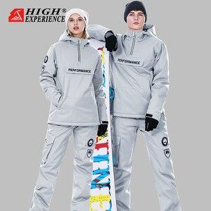 Image 1 - Winter Suit Women Ski Suit Men Snowboard Jacket Women Sport Suit Ski Jacket Women Skiing And Snowboarding Snow Clothes Female