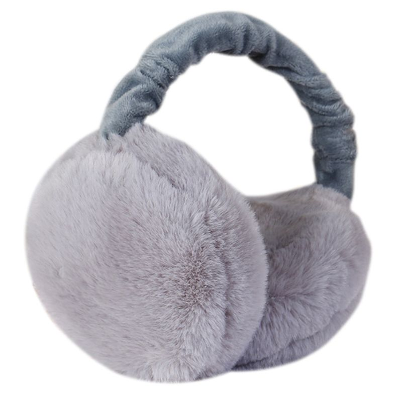 Kids Earmuff Ears Pad Warm Winter Plush Girl Earflap Earbuds Snowy Windy Warmer LX9E