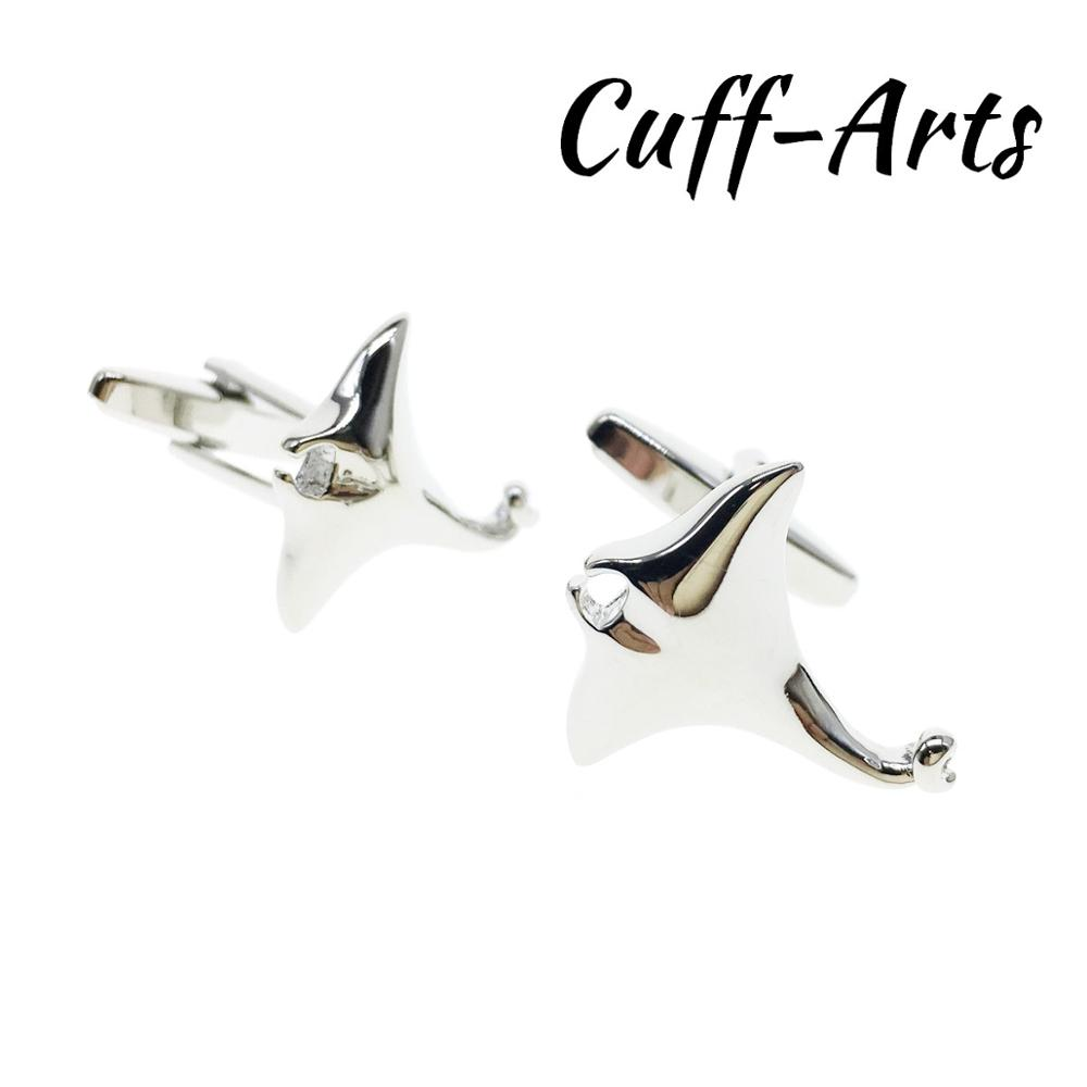 Cufflinks For Men Manta Ray Fish Cufflinks Gifts For Men Gemelos Les Boutons De Manchette By Cuffarts C10496