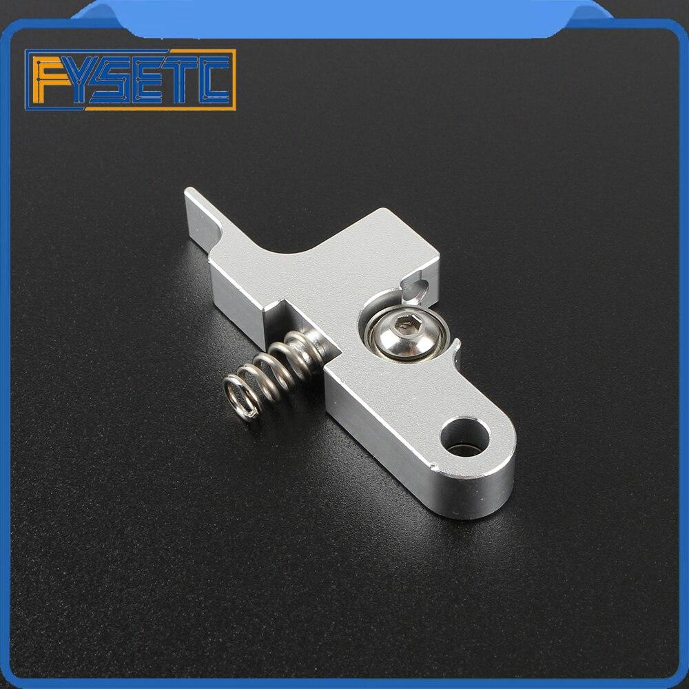 Brazo tensor de plata Titan Aero extrusor para todo tipo de Metal 1,75mm Prusa i3 MK2