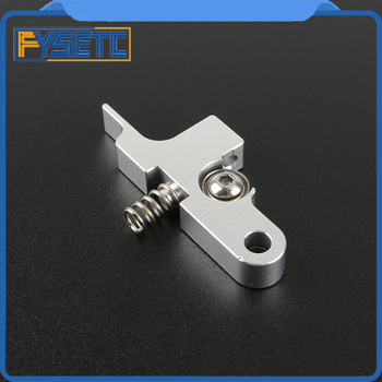 Silver Titan Aero Extruder Idler Arm For All Metal Titan Aero Extruder 1.75mm  Prusa i3 MK2 mellow all metal nf crazy hotend v6 copper nozzle for ender 3 cr10 prusa i3 mk3s alfawise titan bmg extruder 3d printer parts