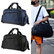 Travel Bag Oval Black Oxford cloth Frosted waterproof travel bag Shoulder Strap Duffle Bag Business Fashion high quality