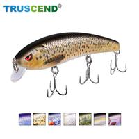 TRUSCEND Rechargeable Twitching Lure Fishing Attractant Lure Swimbait Wobblers Minnow Jerkbait Twitching Led Fishing Lure