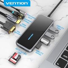 Vention USB C HUB Type-C to HDMI Multi USB 3.0 HUB Adapter  Thunderbolt 3 for MacBook Pro USB-C 3.1 Splitter Port Type C HUB
