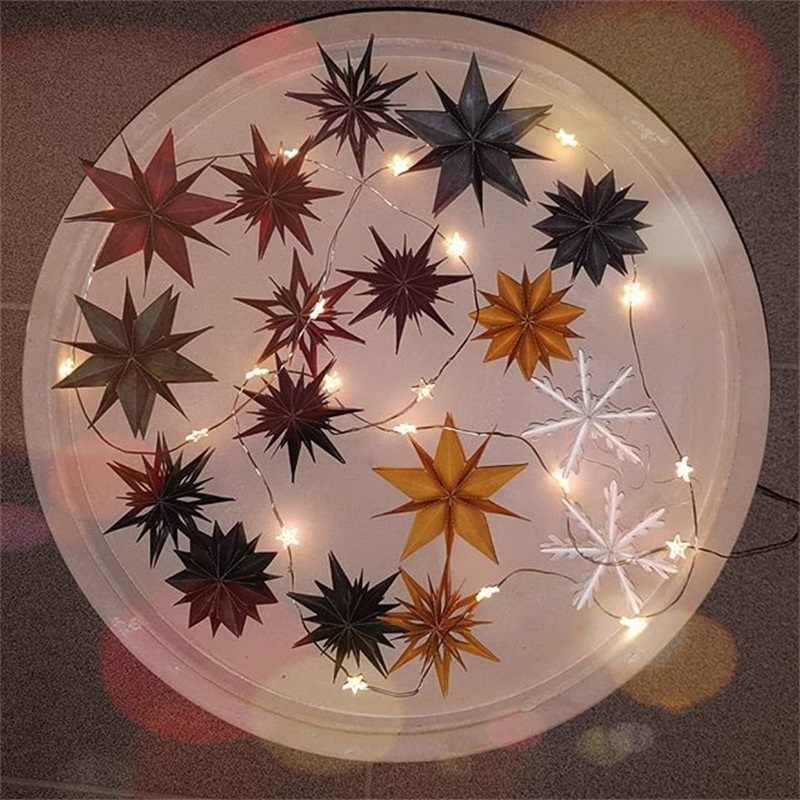 Metalen stansmessen diverse gevouwen sterren sterven cut mold scrapbooking kaarten maken papier ambachten mes schimmel stencils nieuwe 2019