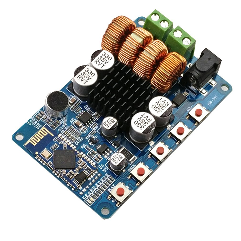 Receiver Amplifier Board Amplifier Tpa3116/3118 Bluetooth Digital Amplifier Sound Quality Is Good