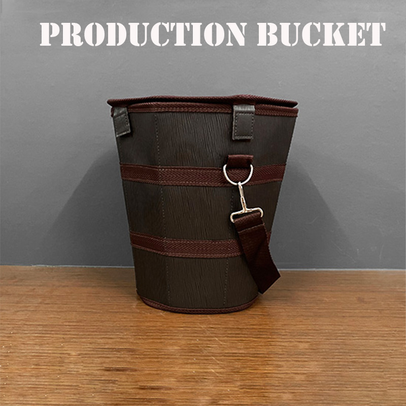 Production Bucket Magic Tricks Objects Appear From Empty Bucket Magia Magician Stage Illusions Gimmick Prop Easy To Fold Carry