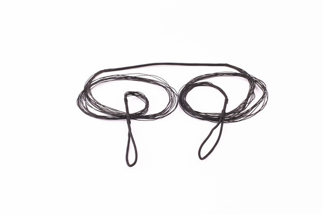 Good-quality Replacement Black Bow String for Traditional Recurve Bow Longbow Hunting Shooting Accessories Length 111cm-173cm 3