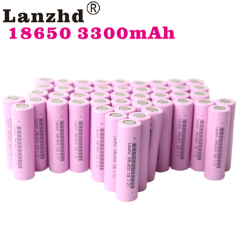 18650 lithium battery Rechargeable batteries ion 3.7V 3300mah li