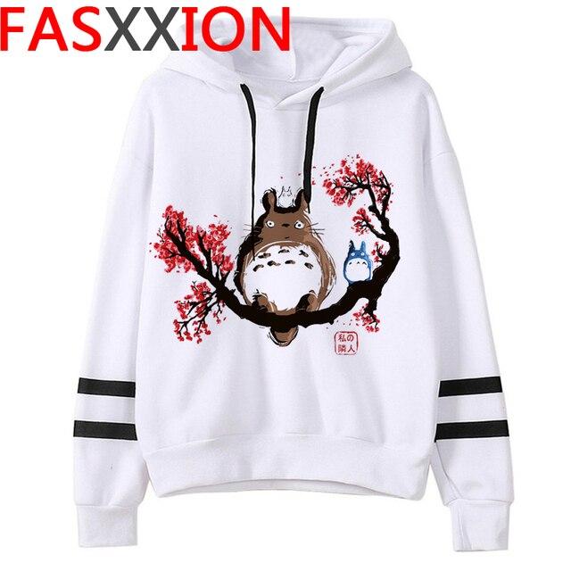 Totoro Studio Ghibli hoodies women streetwear grunge femme hoody sweatshirts hip hop streetwear 4