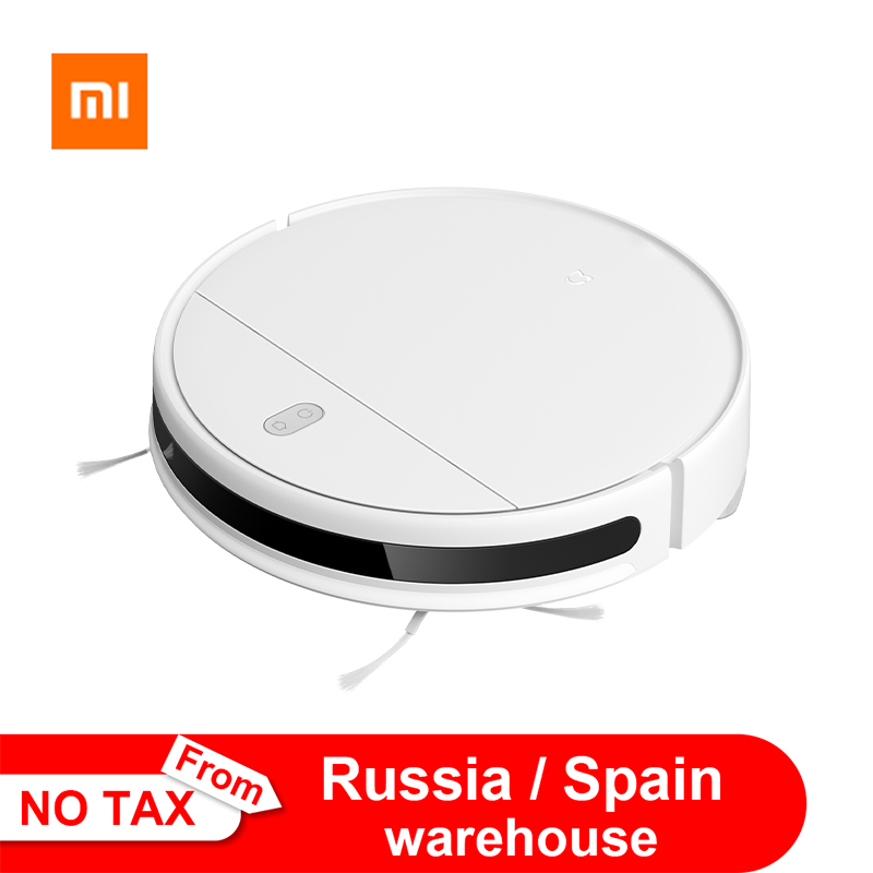 2020 Xiaomi Mijia Robot Vacuum Cleaner G1 for Mi Home Automatic Dust Sterilize App Smart Control Sweeping Mopping Cleaner MJSTG1(China)