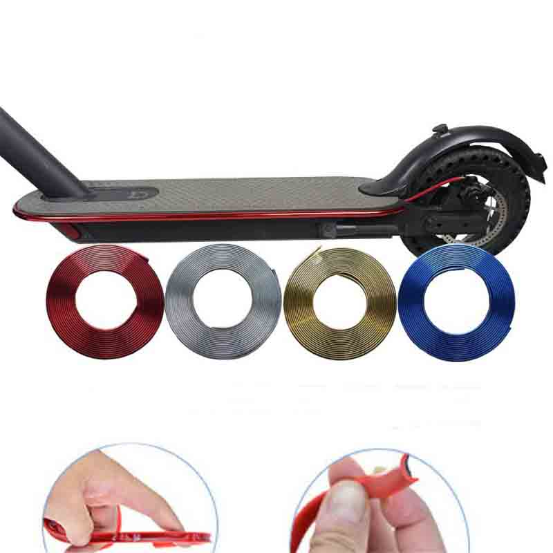 Bumper Protective Scooter Body Strips For Xiaomi Mijia M365/Pro Electric Skateboard Car Scooter Anti Scratch Decorative Strips