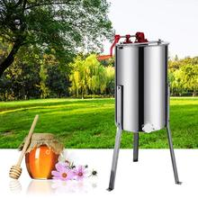 Manual Honey Extractor 3 Frame Beekeeping Equipment Stainless Steel Honey Spinner with Stand Beekeeping Equipment