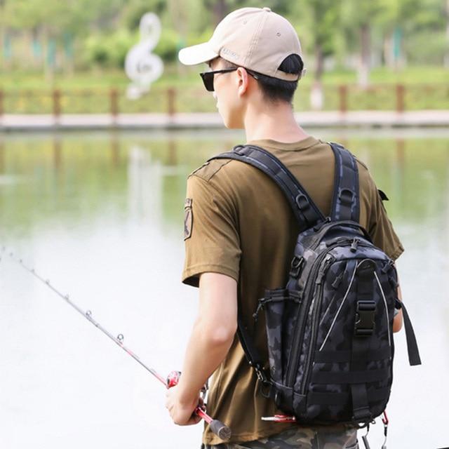 Sports Men Tactical Hiking Backpack Chest Bag Military Fishing Shoulder Sling Climbing Camping Mochila Militar 2019 New XA209D 2