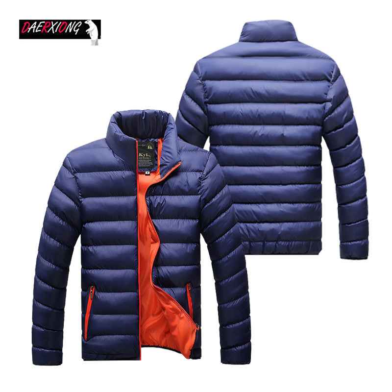 Winter Jacket Men 2019 New Thick Warm Down Jacket Men Stand Collar Warm Outerwear Male Brand Casual Slim Jacket Large Size M-4xl