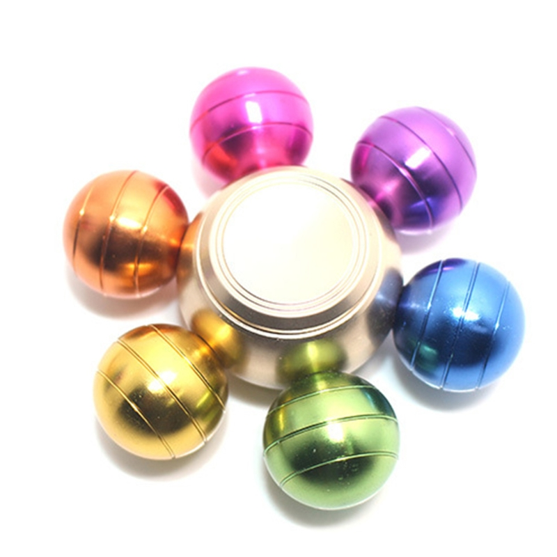 Colorful Detachable Finger Fidget Spinner Spinning Stress Relief Toy Adults Kids Toy