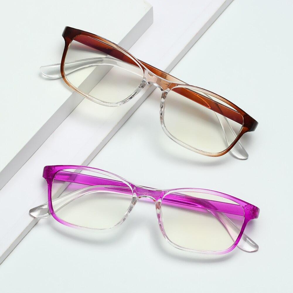 Qutzzmnd Urltra-Light Eye Protection Glasses For women Men Anti-Blue Light Reading Glasses Computer Comfortable Eyeglasses
