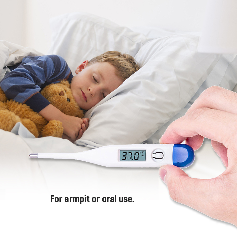 Children Digital Mercury Thermometer  LCD Show Reading 4