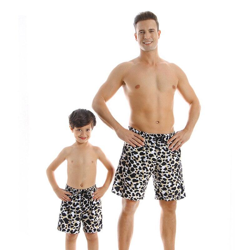Пляжные шорты father son мужские плавки купальник для мальчиков