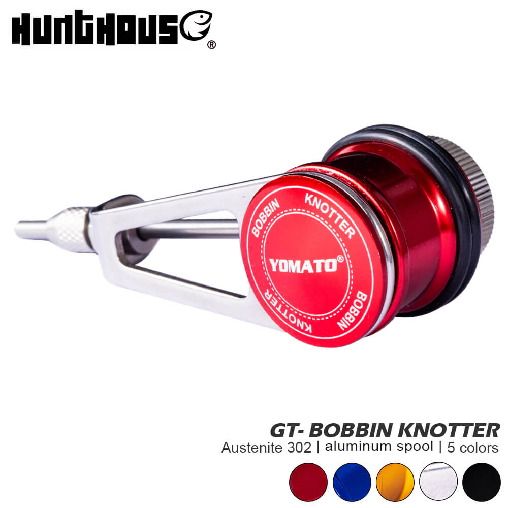 Hunt House GT Bobbin Knotter Fishing Line Tool 62g Stainless Steel Material ASSIST KNOTTING Winder Fishing Bobbin Knotter