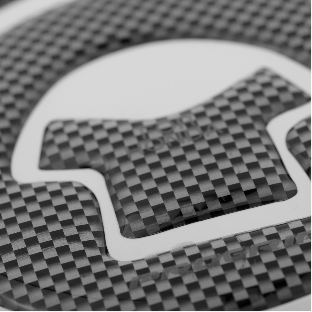 KKmoon 2016 Hot New Carbon-Look Fuel / Gas Cap Cover Pad Sticker For Honda CBR 600RR Motorcycle Sticker For Honda